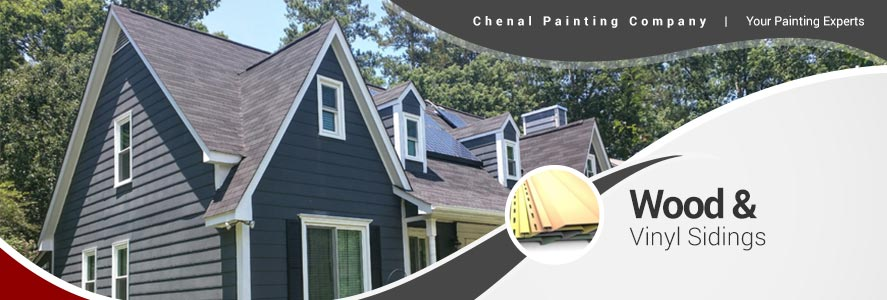 Wood Composite Amp Vinyl Siding By Chenal Painting Company